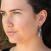 Yowah Opal Simple Bird Earrings