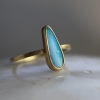 Tapered Boulder Opal Stacker Ring