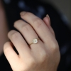Blossom Moonstone 14k Gold Ring