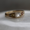 Gold Mixed Diamond Ring