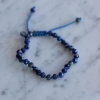 Lapis 6mm Faceted Bracelet