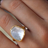 22k Polki Diamond Ring