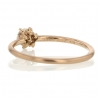 Diamond Solitaire 18k Rose Gold Ring