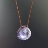 Faceted Iolite Zen Gems Necklace