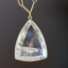 Phantom Quartz Triangular Pendant (Chain Sold Separately)