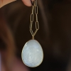 Speckled Snow Moonstone Pendant (Chain Sold Separately)