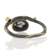 Keishi Pearl and Diamond Ring