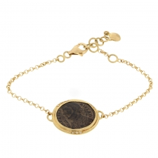 Ancient Roman Coin Bracelet Image