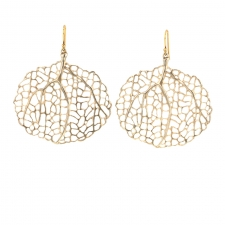 Sterling Small Sea Fan Earrings Image