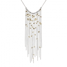 Dots Fringe Necklace Image