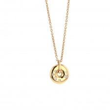 Rose Gold and Diamond Necklace Image