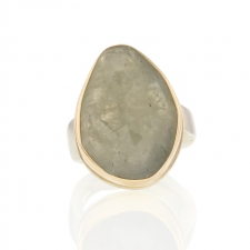 Linen Sapphire Vertical Ring Image