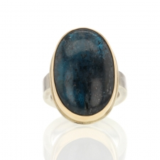 Blue Green Kyanite Ring Image