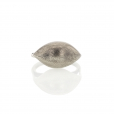 Zeppelin Brushed Silver Ring Image