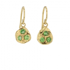 Green Garnet Earrings Image