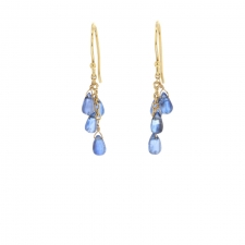 Blue Kyanite Cascade Earrings Image