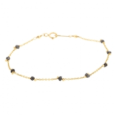 Black Diamond Gold Bracelet Image