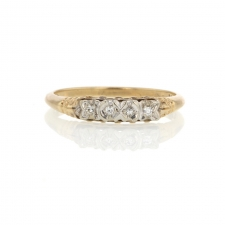 Ladies Diamond Wedding Band Image