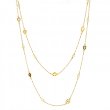 Long Diamond Necklace Image