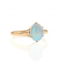 10k Gold Opal Ring Image