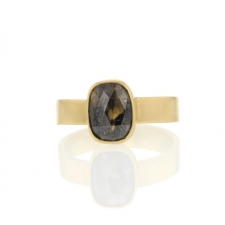 Rustic Diamond Gold Ring Image