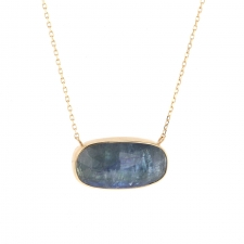 Tanzanite Faceted Necklace Image
