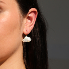 Small Daydreamer Mother of Pearl Earrings