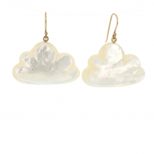 Large Mother of Pearl Daydreamer Earrings Image
