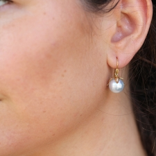 South Sea Pearl Bud Earrings Image
