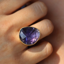 Tanzanite Branch Ring