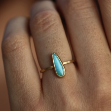 Tapered Boulder Opal Stacker Ring Image