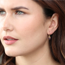 Amethyst Berry Earrings Image
