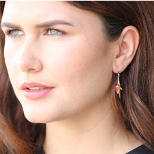 Bird of Paradise Earrings Image