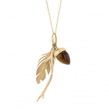 Woodland Gold Charm Necklace Image
