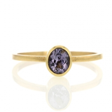 Pale Spinel Gold Ring Image