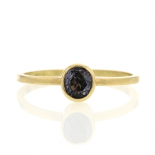 Roundish Oval Spinel Ring Image