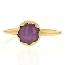 Star Ruby 18k Gold Ring Image