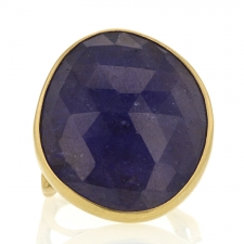 18k Gold Tanzanite Branch Ring Image