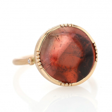 Bi Color Watermelon 18k Rose Gold Ring Image