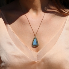 Boulder Opal Nefertiti Necklace Image
