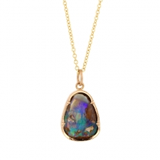 Boulder Opal Necklace Image