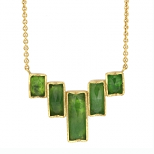 Tsavorite Ziggurat Necklace Image