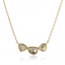 Diamond Triple Orbit Necklace Image