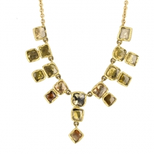 Diamond Slice Multi Deco Necklace Image