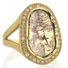 Galaxy Diamond Slice Pave Ring 10 Image