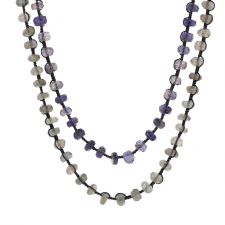 Iolite and Labradorite Necklace Image