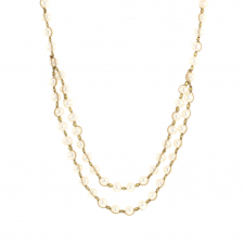 White Pearl Necklace Image