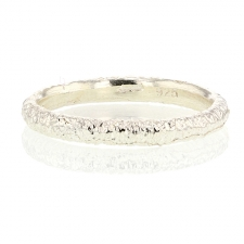 Etched Silver Band Image