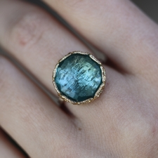 London Blue Quartz Lace Ring Image