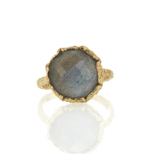 All Gold Labradorite Lace Ring Image